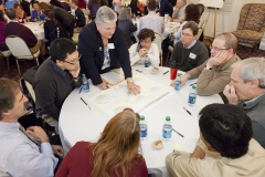 Visioning exercise - part of a series on campus in the Illini Union General Lounge.